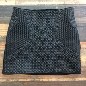Fo Leather Skirt